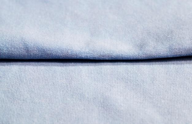 グレーに染められた綿で作られた天然素材