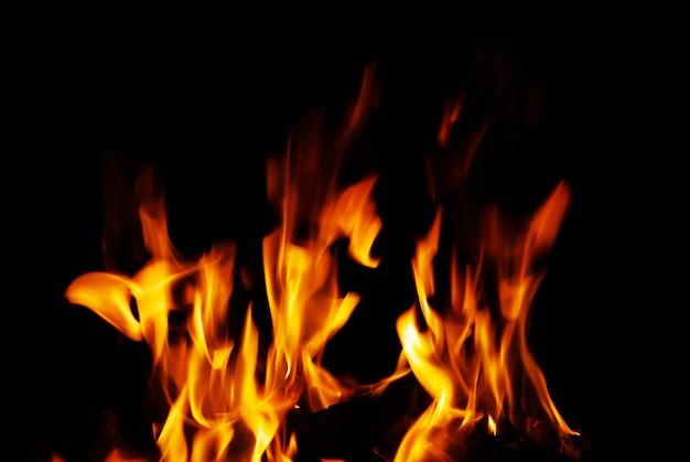 화재 장소에서 멋진 불