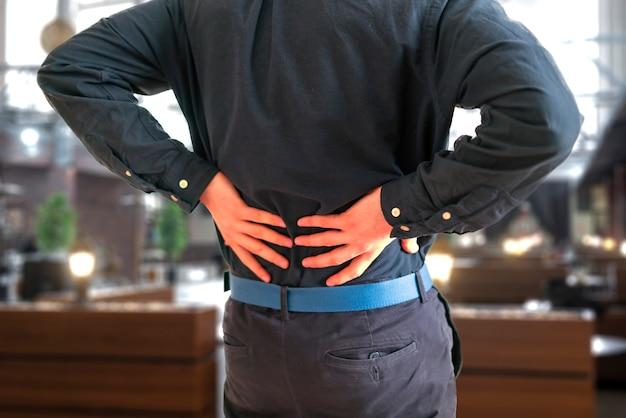 腰痛、ストレス過労病の問題を感じている人
