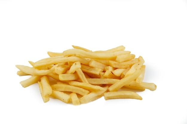 Куча аппетитного картофеля фри
