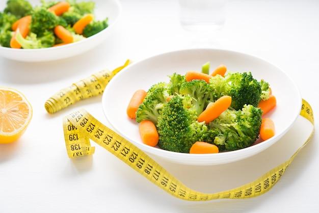 ダイエット食品のプレート