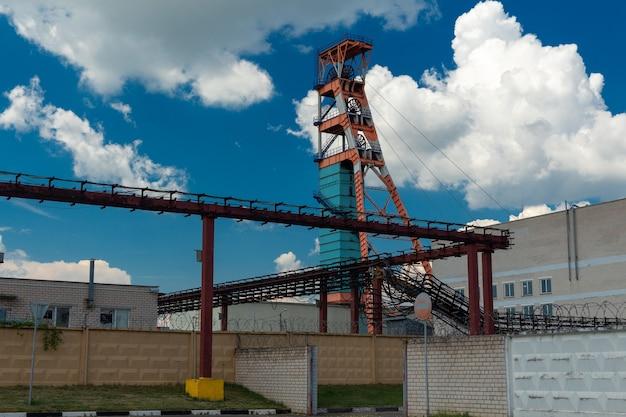 칼륨 광석 광산. 벨로루시 공화국 벨로루시 칼리 기업의 광산 중 하나입니다.