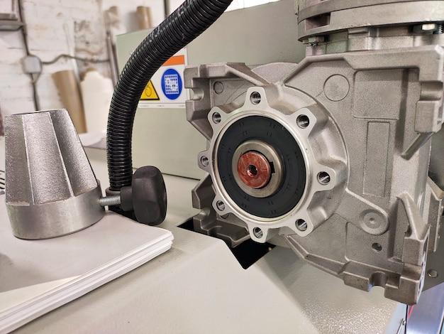 산업 기계에 베어링이 있는 압입 샤프트