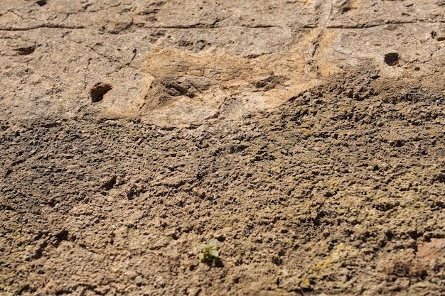 自然の背景としてギリシャのクレタ島で珍しいヴィンテージの壁。