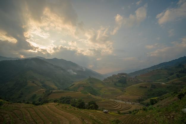 베트남의 논밭 랜드 마크