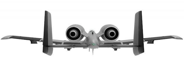 小さな軍用機