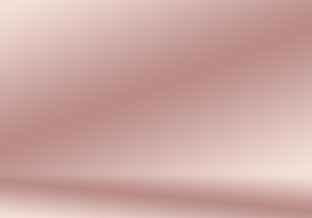 스튜디오 룸, 제품 프레젠테이션 및 배너로 잘 사용되는 파스텔 색상의 부드러운 빈티지 그라디언트 흐림 배경