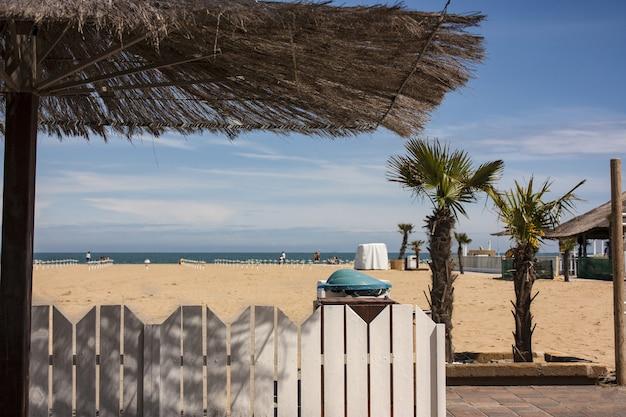 전형적인 이탈리아 해변 정착지.