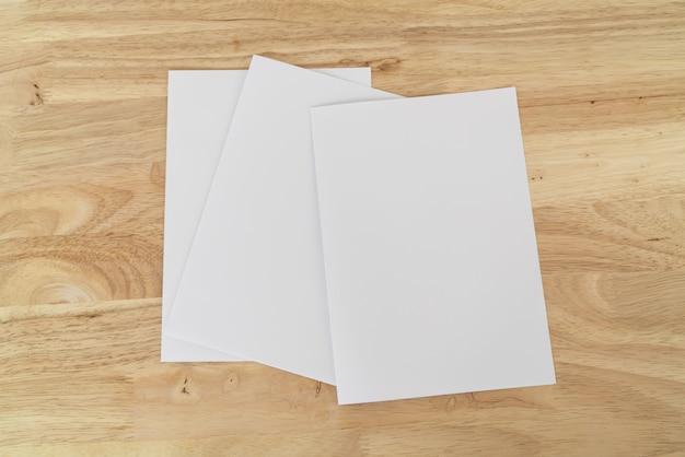 A4二つ折りパンフレット