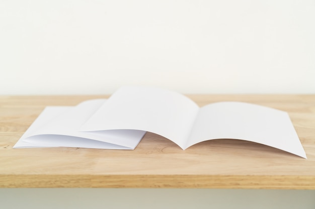 A4 half-fold brochures