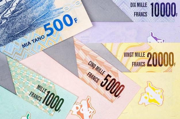 コンゴからのお金-フランaサーフェス