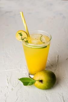 Aam panna or panha or salty and sweet green mango juice