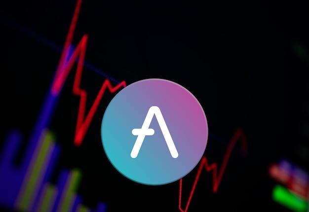 交換チャートのaaveaave暗号通貨コイン成長チャート