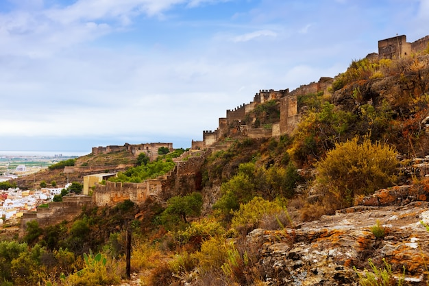 Abandoned castle of sagunto