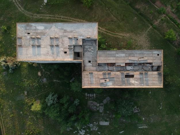 주거용 건물의 버려진 건설 현장