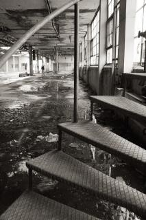 Abandoned factory  creepy