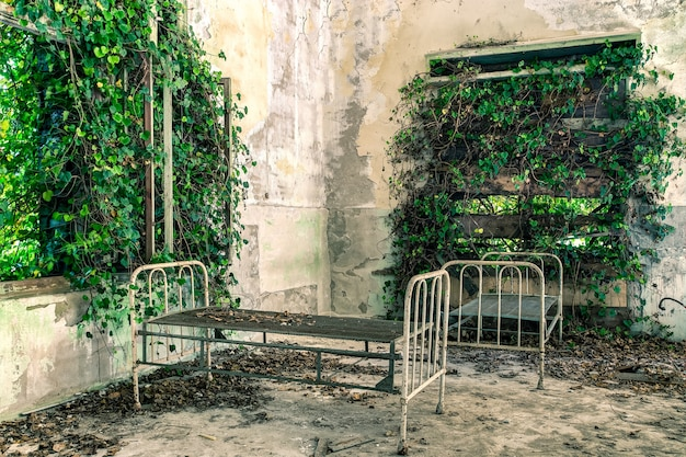 Abandoned hospital in poveglia
