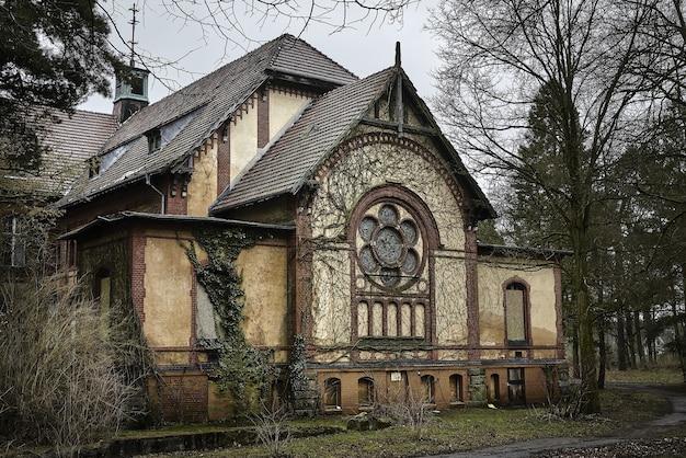 放棄された古い病院ベーリッツ