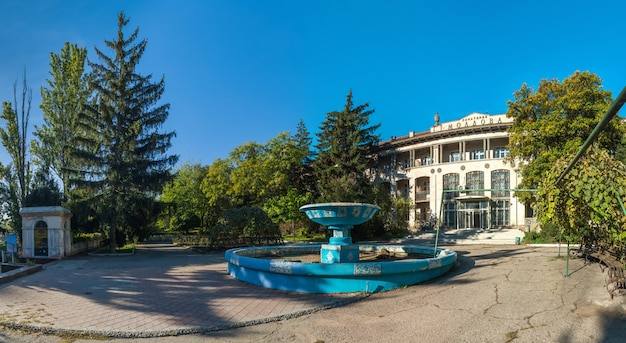 Abandoned sanatorium moldova in odessa, ukraine