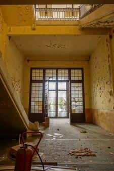 Abandoned tobacco factory in tarragona, spain