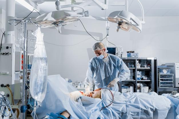 Abdominoplasty plastic operation to reduce the abdomen and remove cellulite