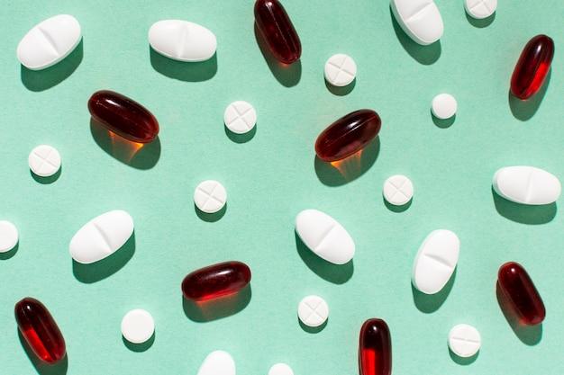 Вышеуказанное расположение таблеток