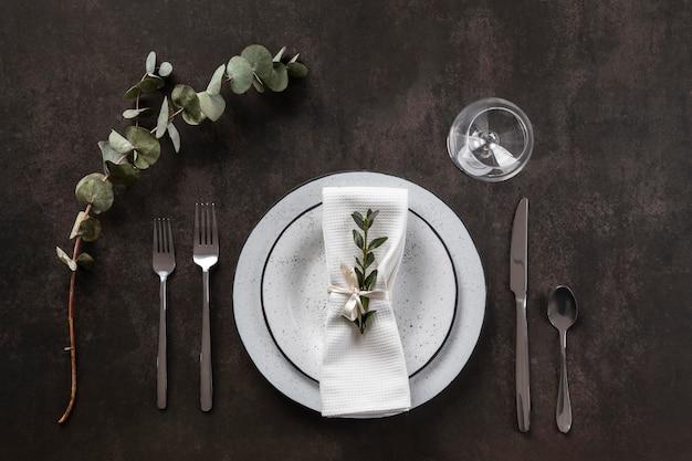 위보기 테이블 에티켓 및 드레싱