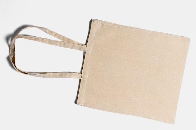 上図トートバッグの配置