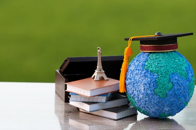 海外では、フランスでのヨーロッパの教育知識学習研究。