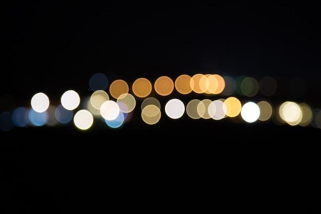 Abstact bokhe night beautiful bokhe Premium Photo