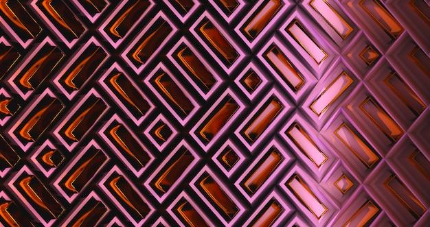 Abstract 3dバックグラウンドの3dレンダリング。抽象化の背景。