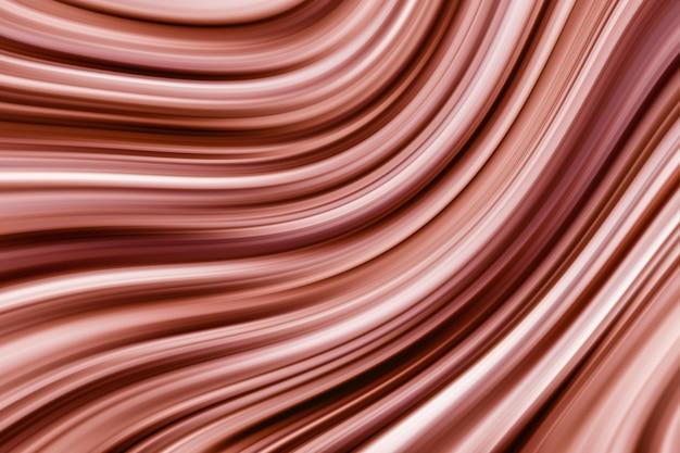 抽象的な3 dレンダリングエレガントな茶色の渦巻き効果テクスチャ背景