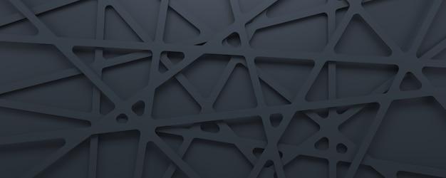 추상적 인 3d 텍스처 회색 기하학적 패턴 배경입니다.