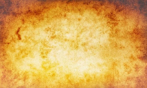 抽象的な老化した背景、ベージュの空白、茶色のキャンバス古い紙のヴィンテージ