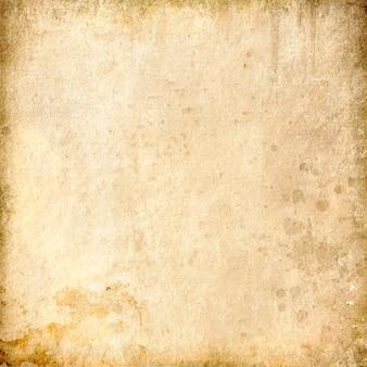 抽象的な古いベージュの背景、グランジ空白の背景、古い紙のテクスチャ