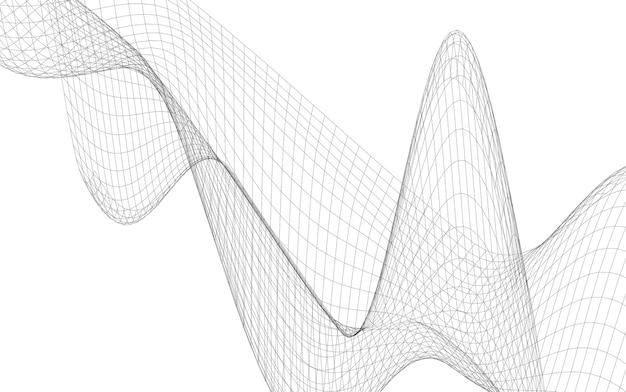 추상 건축 도면입니다. 기하학적 배경, 그림입니다.