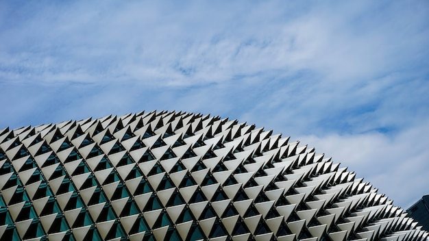 Abstract arhitectural building