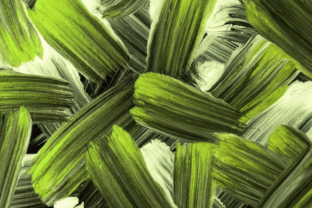 Abstract art background black and light green colors. watercolor painting with strokes and splash. acrylic olive artwork on paper with spotted pattern. texture backdrop.