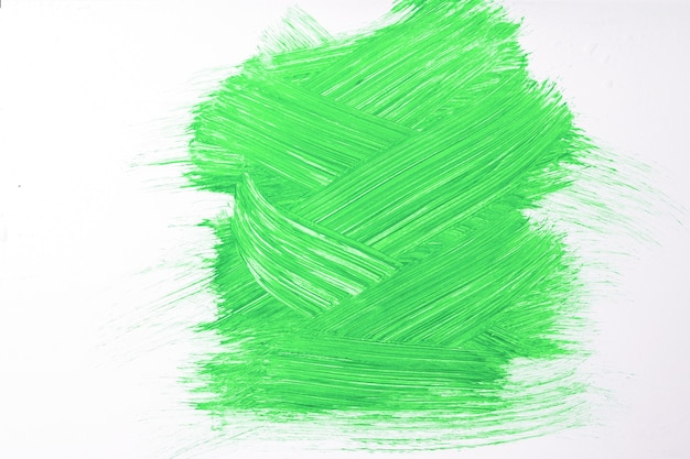Abstract art background bright green and white colors. watercolor painting on canvas with olive strokes and splash. acrylic artwork on paper with sample. texture backdrop.