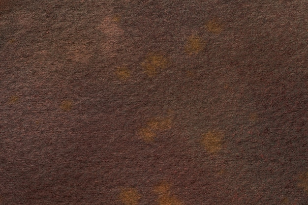 Abstract art background dark brown colors. watercolor painting on canvas.