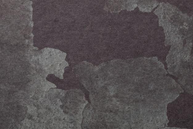 抽象芸術の背景ダークグレーと茶色の色。水彩画