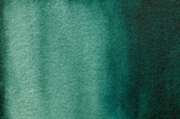Abstract art background dark green and cyan colors.