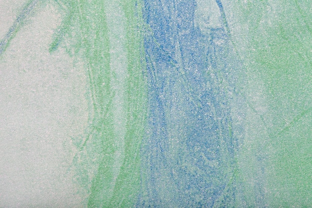 Abstract art background green and blue color