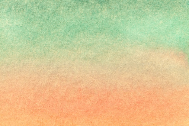 Abstract art background light green and pink colors. watercolor painting on canvas.