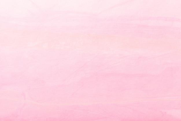 抽象芸術の背景の淡いピンク色。キャンバス上の多色塗装。