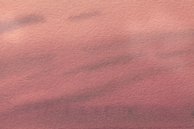 Abstract art background light red and pink colors. watercolor painting on canvas.