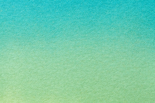 Abstract art background light turquoise and green colors, watercolor painting on canvas ,