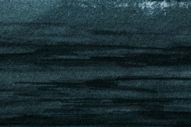 Абстрактное искусство фон темно-синий и черный цвета. акварельная живопись на холсте с мягким градиентом.