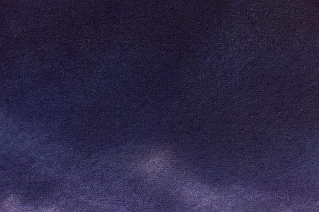 抽象芸術の背景ネイビーブルーの色。インディゴのグラデーションでキャンバスに水彩画。