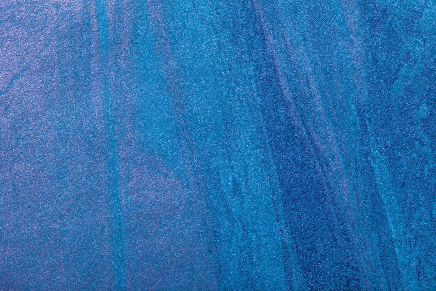 Abstract art background navy blue and turquoise color. multicolor painting on canvas.